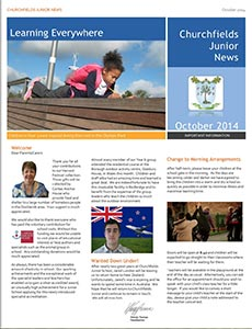 Newsletter October 2014