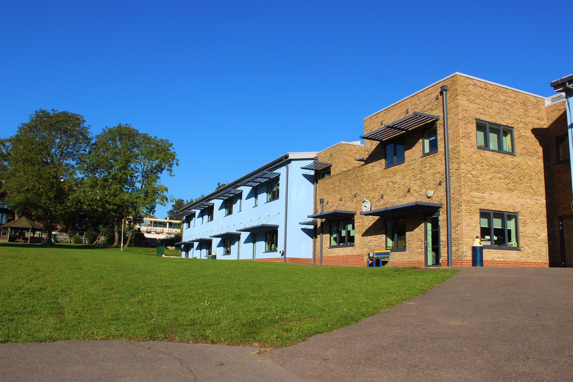 Churchfields Junior School building