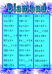 Maths Challenge Diamond A