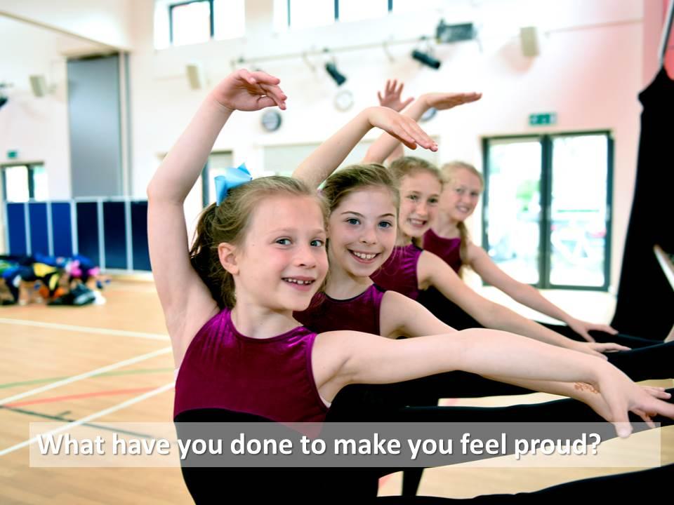 Ballet barre practice