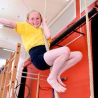 Athelites member climbing rope