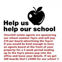 Help us help our school