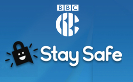 BBC Stay Safe logo