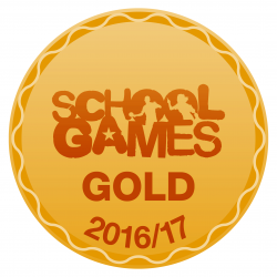 School Games Gold logo