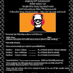 Halloween Disco Poster