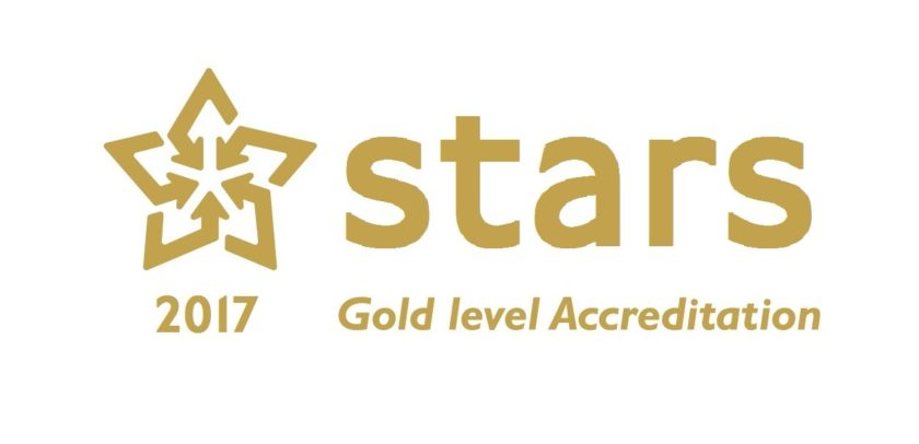STARS Gold level Accreditation 2017 logo