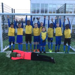 Year 5 Football Team win against Ray Lodge