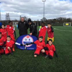 Year 6 football team win at Boreham Wood