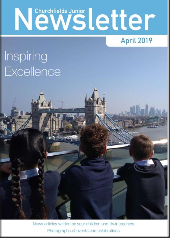 Newsletter April 2019 cover