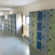 New lockers in the corridor
