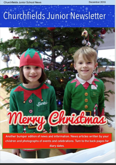 Newsletter December 2018 cover