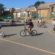 Children cycling in a circle