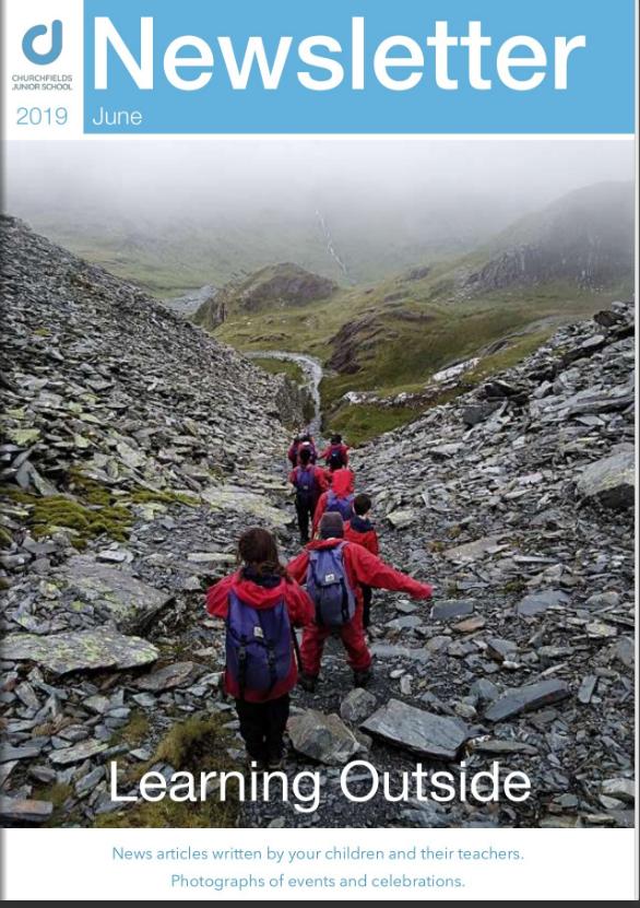 Newsletter June 2019 cover