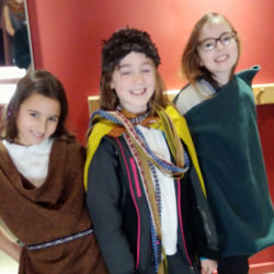 Anglo Saxon Fashion show
