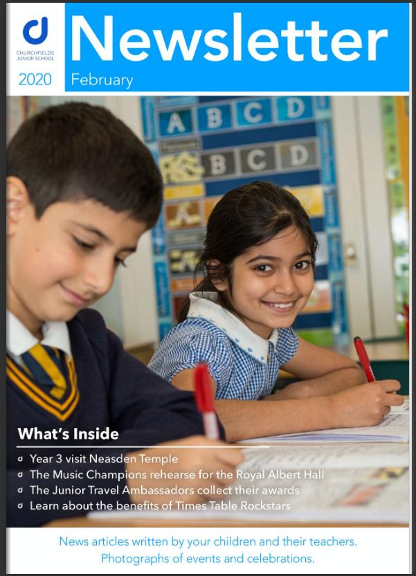 Newsletter Fabruary 2020 cover