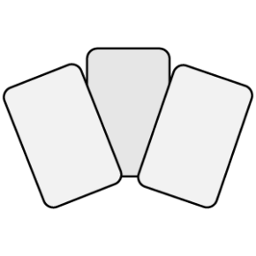 Cards quiz icon