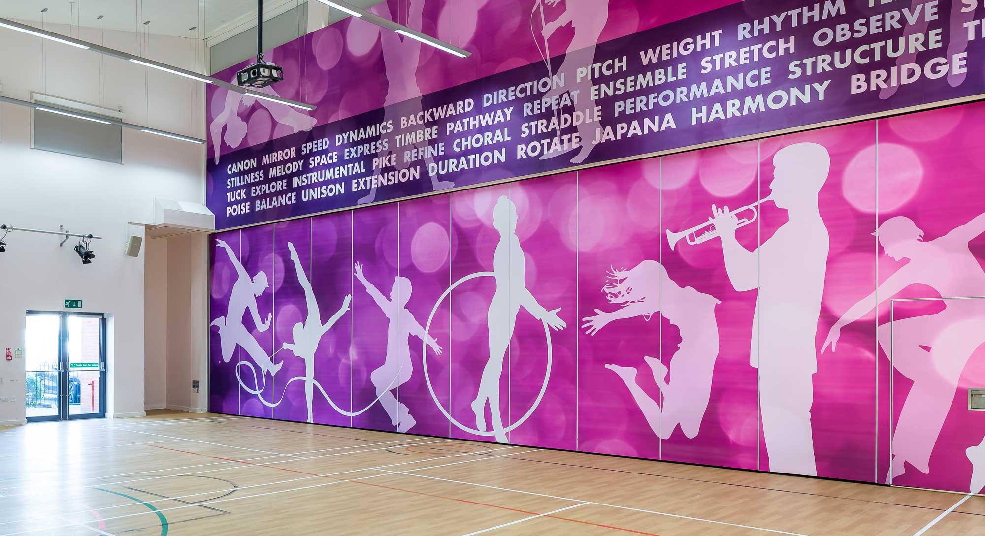 PE art wall