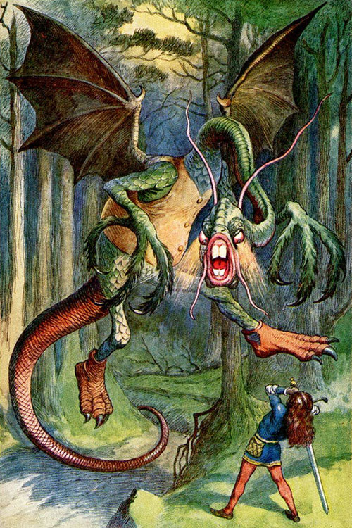 The Jabberywocky by Lewis Carroll