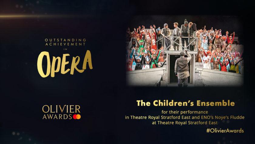 Olivier Awards poster