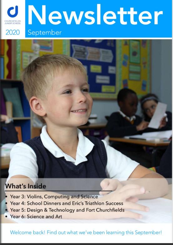 Newsletter September 2020 cover