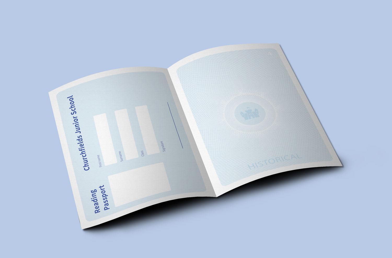 The Reading Express passport