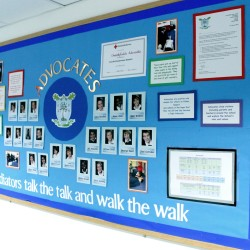 Pupil Advocates board