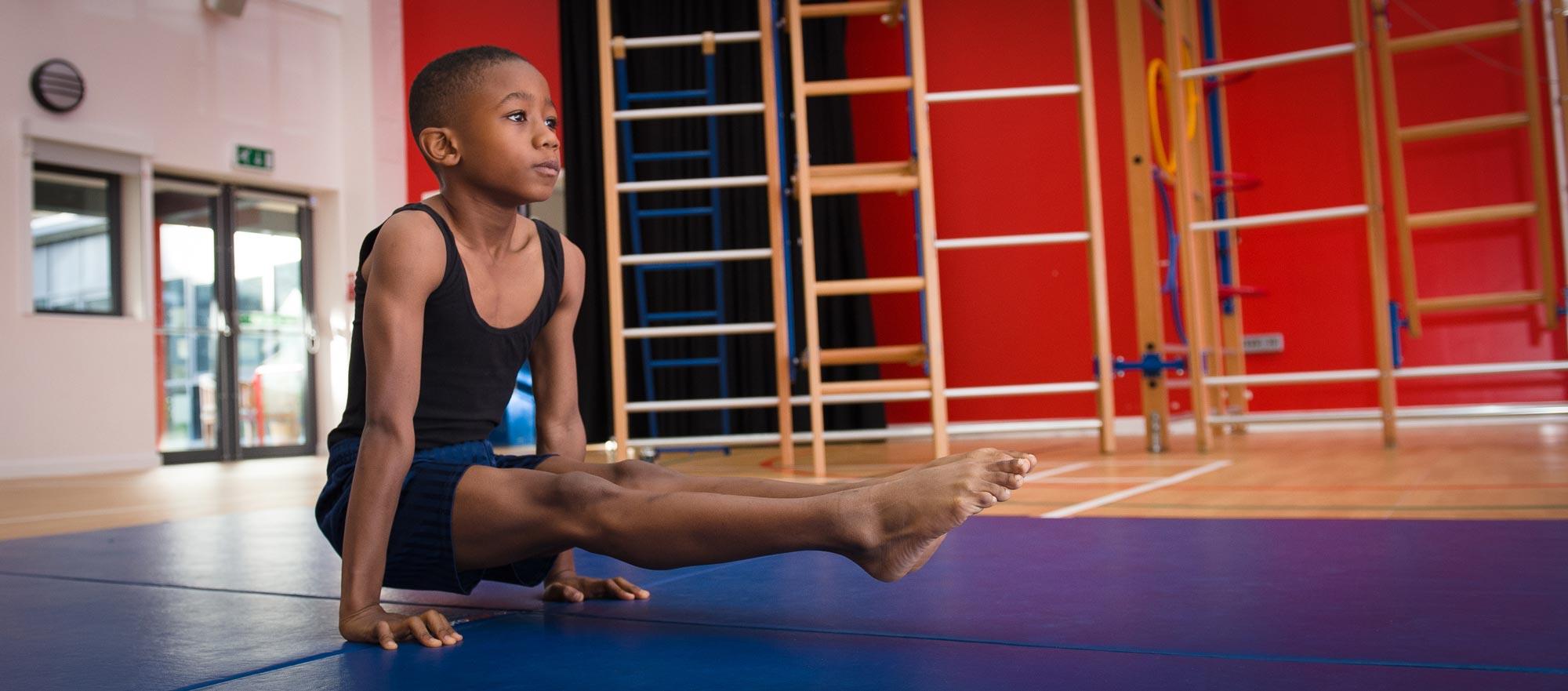 Gymnastic floor exercise