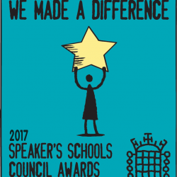 We made a difference badge 2017
