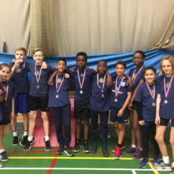 Team with medals
