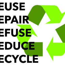 Reuse, repair, refuse, reduce, recycle