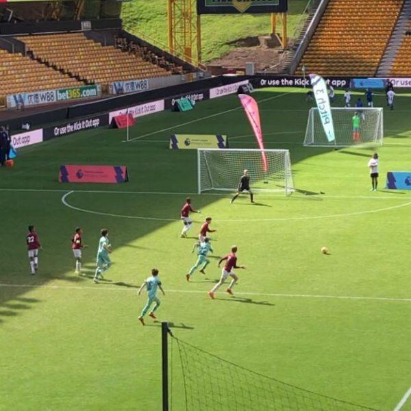 Fotball match - West Ham v Arsenal