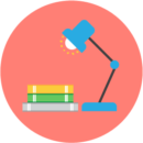 French home learning icon