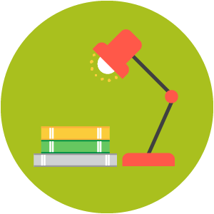 Music home learning icon