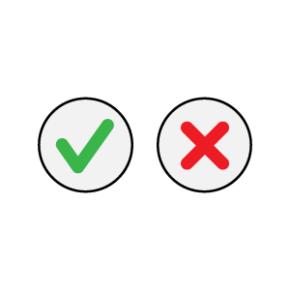 True False quiz icon