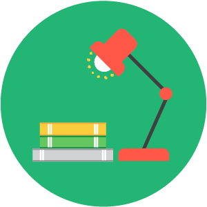 Science home learning icon