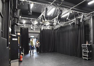 Inside the Redbridge Drama Centre